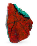 Lapidary Art:Carvings, Sonora Sunset Slab. Milpillas Mine. Sonora. Mexico. 7.20 x 4.72x 0.27 inches (18.30 x 12.00 x 0.69 cm). ...