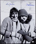 "Non-Sport Cards:Singles (Pre-1950), Laverne & Shirley - Penny Marshall/Cindy Williams Signed 16x20""Black & White Photo. ..."