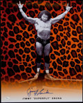 "Autographs:Photos, Jimmy ""Superfly"" Snuka Wrestling Legend Signed 16x20"" Photo. ..."