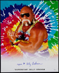 "Non-Sport Cards:Singles (Pre-1950), ""Superstar"" Billy Graham Wrestling Legend Signed 16x20"" Photo. ..."