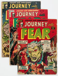 Golden Age (1938-1955):Horror, Journey Into Fear Group of 5 (Superior Comics, 1952-54) Condition:Average GD.... (Total: 5 Comic Books)