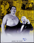"Autographs:Photos, Bobby ""The Brian"" Heenan Wrestling Legend Signed 16x20"" Photo. ..."
