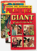 Golden Age (1938-1955):Miscellaneous, Golden to Silver Age Miscellaneous Comics Group of 6 (Various Publishers, 1941-70) Condition: Average VG.... (Total: 6 Comic Books)