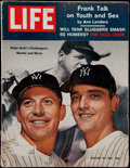 Baseball Collectibles:Publications, 1961 Life Magazine with Mickey Mantle and Roger Maris. ...