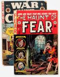 Golden Age (1938-1955):Horror, Haunt of Fear #22 and War Against Crime #1 Group (EC, 1949-53)....(Total: 2 Comic Books)