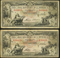 Canadian Currency: , Toronto, ON- Canadian Bank of Commerce $10 Jan. 2, 1935 Ch. #75-18-06, Two Examples. ... (Total: 2 notes)