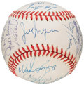 Autographs:Baseballs, 1991 Boston Red Sox Team Signed Baseball (30 Signatures). ...