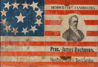 James Buchanan: An Extraordinary 1856 Campaign Flag
