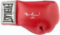 Boxing Collectibles:Autographs, Muhammad Ali Signed Boxing Glove. ...