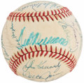 Autographs:Baseballs, 1980's Boston Red Sox Greats Multi Signed Baseball (24 Signatures)....