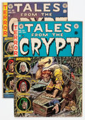 Golden Age (1938-1955):Horror, Tales From the Crypt #29 and 36 Group (EC, 1952-53) Condition:Average FN-.... (Total: 2 Comic Books)
