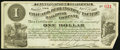 Obsoletes By State:Iowa, Newton, IA- Chicago, Burlington and Pacific Railroad Company $1 Apr. 1, 1882. ...