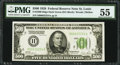 Fr. 2200-H $500 1928 Federal Reserve Note. PMG About Uncirculated 55