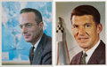 Autographs:Celebrities, Mercury Seven Astronauts: Scott Carpenter and Wally Schirra Signed Color Photos. ... (Total: 2 )