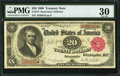 Large Size:Treasury Notes, Fr. 374 $20 1890 Treasury Note PMG Very Fine 30.. ...