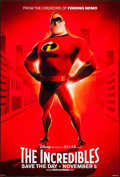"""Movie Posters:Animation, The Incredibles (Buena Vista, 2004). One Sheet (27"""" X 40"""") DS Advance. Animation.. ..."""