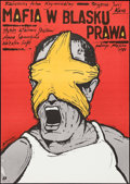 """Movie Posters:Foreign, Kings of Crime & Other Lot (Polfilm, 1988). Polish One Sheets (2) (26.5"""" X 37.5"""" & 26.75"""" X 38.5""""). Foreign.. ... (Total: 2 Items)"""