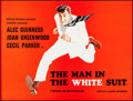 """Movie Posters:Comedy, The Man in the White Suit (Ealing, R-1980s). British Quad (30"""" X40""""). Comedy.. ..."""