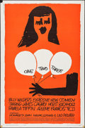 "Movie Posters:Comedy, One, Two, Three (United Artists, 1962). One Sheet (27"" X 41""). Comedy.. ..."