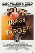 "Movie Posters:Mystery, Brass Target (MGM/UA, 1978). Autographed One Sheet (27"" X 41"").Mystery.. ..."