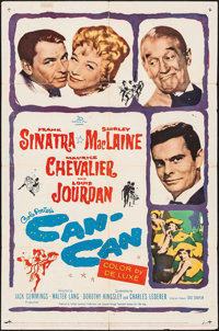 "Can-Can (20th Century Fox, 1960). One Sheet (27"" X 41""). Musical"