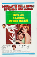 "Movie Posters:Comedy, How to Save a Marriage -- And Ruin Your Life (Columbia, 1968).Autographed One Sheet (27"" X 41""). Comedy.. ..."