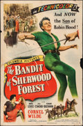 "Movie Posters:Adventure, The Bandit of Sherwood Forest (Columbia, 1946). One Sheet (27"" X41""). Adventure.. ..."