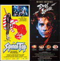 "Movie Posters:Rock and Roll, This is Spinal Tap & Other Lot (Embassy, 1984). AustralianDaybills (2) (13.25"" X 25"", 13.25"" X 27""). Rock and Roll.. ...(Total: 2 Items)"
