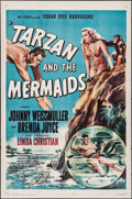 "Movie Posters:Adventure, Tarzan and the Mermaids (RKO, 1948). One Sheet (27"" X 41"").Adventure.. ..."