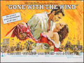 "Movie Posters:Academy Award Winners, Gone with the Wind (MGM, R-1968). British Quad (30"" X 40""). AcademyAward Winners.. ..."