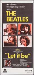 "Movie Posters:Rock and Roll, Let It Be (United Artists, 1970). Australian Daybill (13"" X 30"").Rock and Roll.. ..."