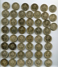 Brazil, Brazil: A 50-Piece Group Lot of 1000 Reis 1913,... (Total: 50coins)
