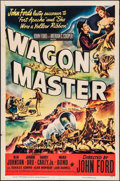 "Movie Posters:Western, Wagon Master (RKO, 1950). One Sheet (27"" X 41""). Western.. ..."