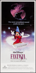 "Movie Posters:Animation, Fantasia (Buena Vista, R-1990). Australian Daybill (13.25"" X 26.75""). Animation.. ..."