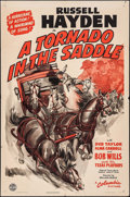 """Movie Posters:Western, A Tornado in the Saddle (Columbia, 1942). One Sheet (27"""" X 41""""). Western.. ..."""