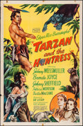 "Movie Posters:Adventure, Tarzan and the Huntress (RKO, 1947). One Sheet (27"" X 41"").Adventure.. ..."