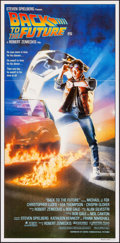 """Movie Posters:Science Fiction, Back to the Future (Universal, 1985). Australian Daybill (13"""" X26.75""""). Science Fiction.. ..."""