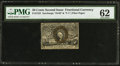 Fractional Currency:Second Issue, Fr. 1322 50¢ Second Issue PMG Uncirculated 62.. ...