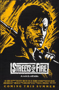 "Movie Posters:Action, Streets of Fire (Universal, 1984). One Sheets (5) (27"" X 41"", 27"" X40"") SS Purple, Red, Yellow, and Orange Advance Styles &...(Total: 5 Items)"