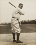 Baseball Collectibles:Photos, Late 1920's Babe Ruth Original Photograph by Thorne, PSA/DNA Type1....