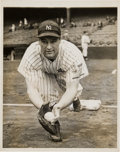 Baseball Collectibles:Photos, 1938 Lou Gehrig Original News Photograph, PSA/DNA Type 1. ...