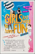 """Movie Posters:Comedy, Girls Just Want to Have Fun & Other Lot (New World, 1985). OneSheets (2) (27"""" X 41""""). Comedy.. ... (Total: 2 Items)"""