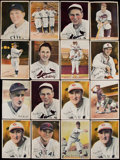 Baseball Cards:Lots, 1936-39 R312, Dixie Lids, Goudey and National Chicle PremiumCollection (66) With DiMaggio, Stengel, Hornsby and more!...