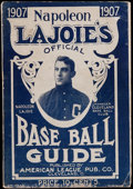 Baseball Collectibles:Others, 1907 Napoleon Lajoie Official Baseball Guide. ...