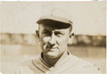 Baseball Collectibles:Photos, 1920's Ty Cobb Original News Photograph, PSA/DNA Type 1....