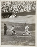 Baseball Collectibles:Photos, 1927 Babe Ruth World Series Original News Photograph, PSA/DNA Type1....