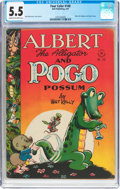 Golden Age (1938-1955):Funny Animal, Four Color #148 Albert the Alligator and Pogo Possum (Dell, 1947)CGC FN- 5.5 Cream to off-white pages....