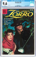 Silver Age (1956-1969):Adventure, Four Color #1037 Zorro (Dell, 1959) CGC NM+ 9.6 Off-white pages....