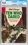 Silver Age (1956-1969):Adventure, Four Color #1178 Ten Who Dared (Dell, 1960) CGC NM 9.4 Off-white pages....