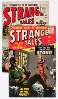 Golden Age (1938-1955):Science Fiction, Strange Tales #35 and 62 Group (Atlas, 1955-58) Condition: AverageVG.... (Total: 2 Comic Books)